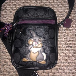 Authentic Coach Disney Thumper xcross over bag